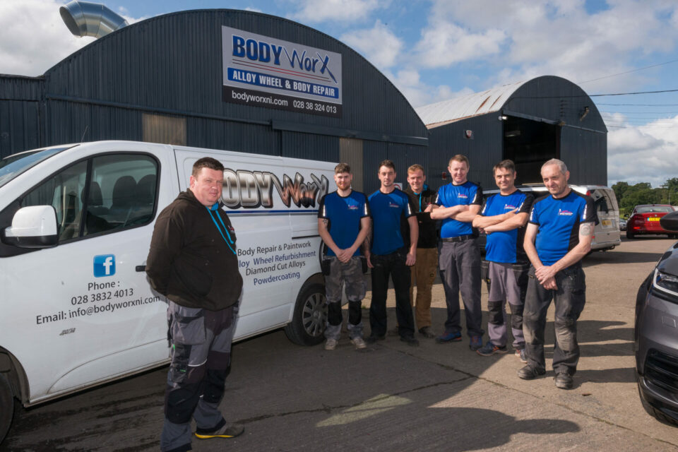 Major alloy wheel refurbishment investment by Bodyworx NI