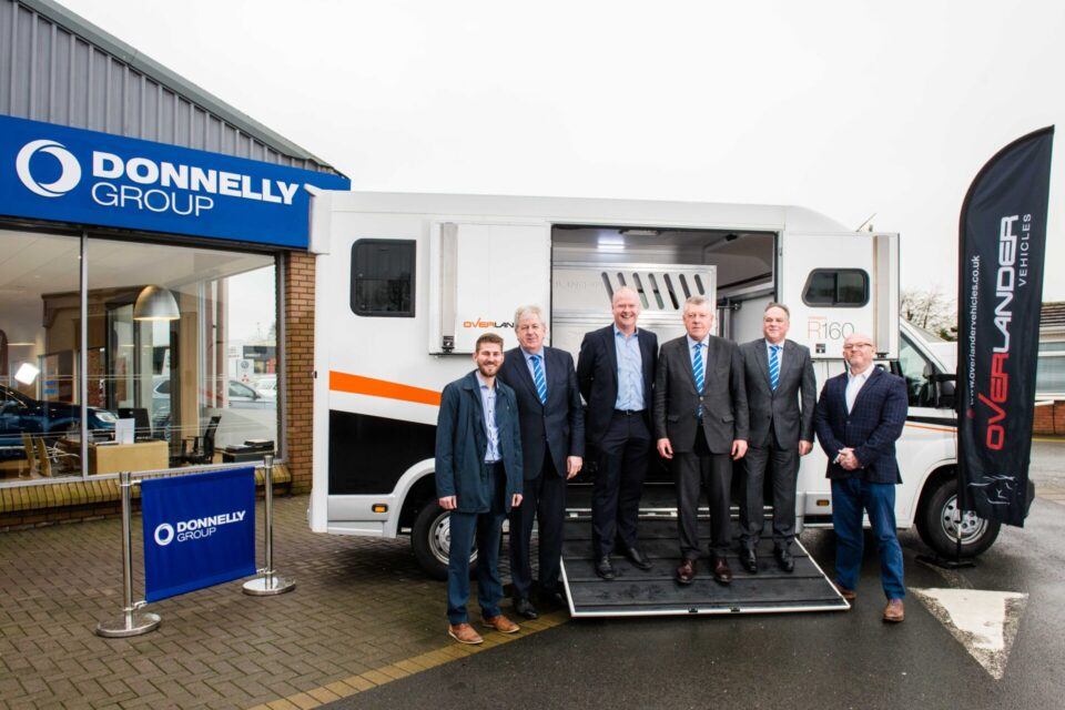 DONNELLY GROUP ANNOUNCES OVERLANDER VEHICLES RETAIL PARTNERSHIP