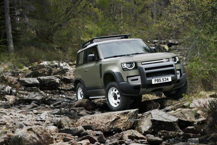 THE NEW LAND ROVER DEFENDER VISITS IRELAND -  AN ICON REIMAGINED.