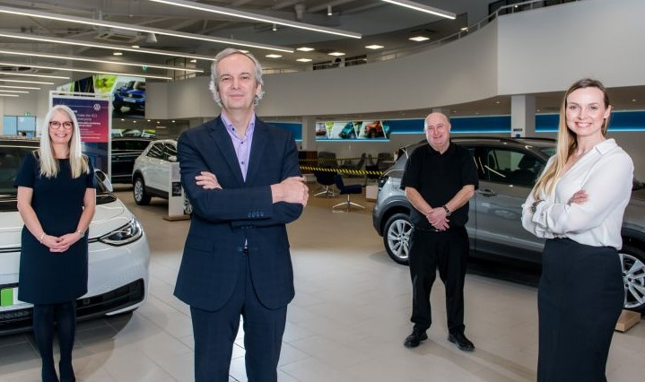 Agnew Volkswagen drives away with top industry awards