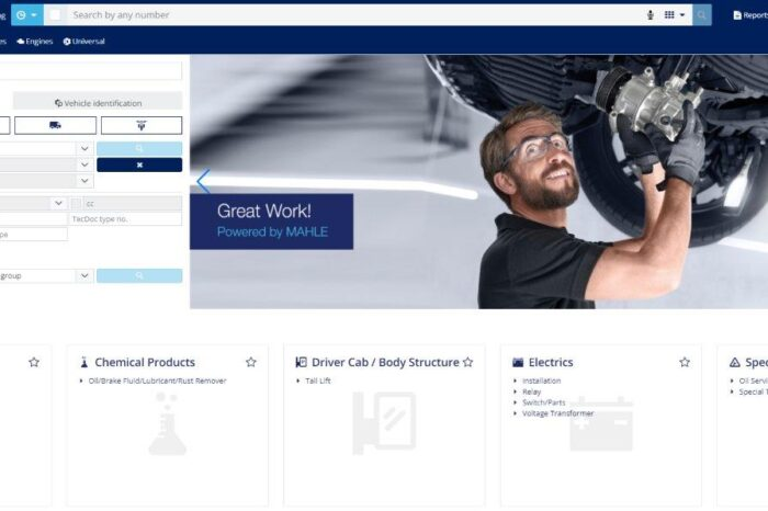 MAHLE updates eCatalogue solution for faster parts search